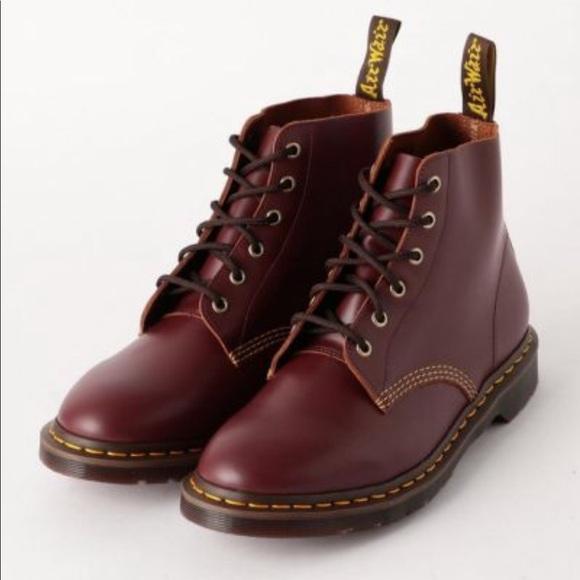 Regular dealer Dr.Martens (doctor Martin) 24875102 1460 RICK GRIFFIN EYE Rick Griffin eye 8 hall boots BLACK
